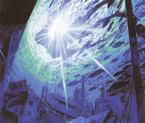 Yoshiyuki Sadamoto, Neon Genesis Evangelion, Der Mond