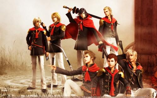 Square Enix, Final Fantasy Type-0, Machina Kunagiri, Eight (Final Fantasy Type-0), King (Final Fantasy Type-0) Wallpaper