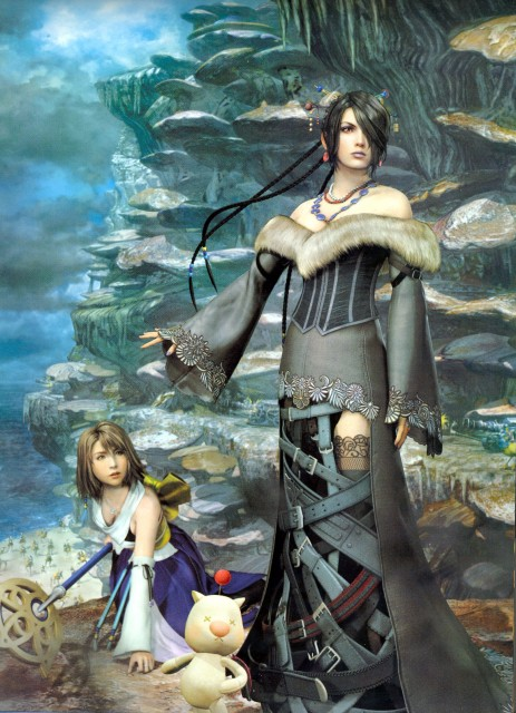 Square Enix, Final Fantasy X - Visual Arts Collection, Final Fantasy X, Yuna, Moogle