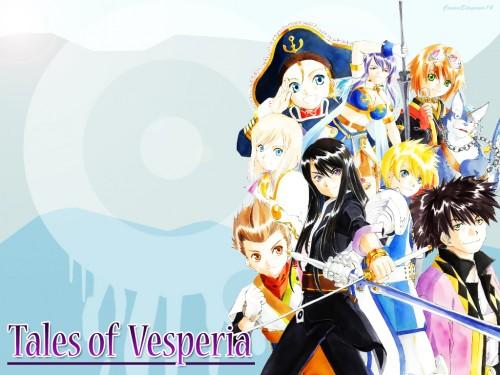 Tales of Vesperia, Yuri Lowell, Rita Mordio, Raven (Tales of Vesperia), Flynn Scifo Wallpaper