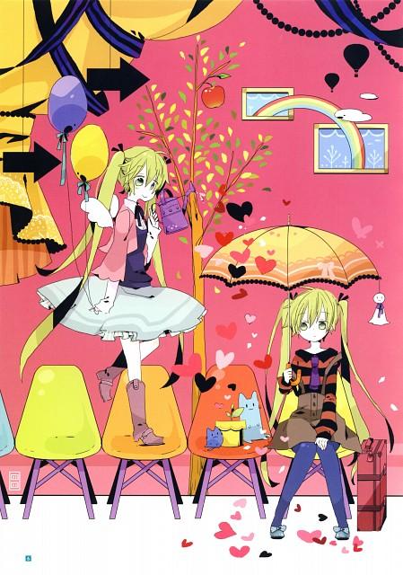 Yoshiki Fukazawa, Hatsune Miku Graphics Character Collection CV01, Vocaloid, Miku Hatsune