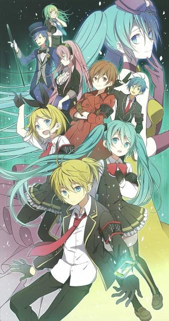 Wogura, Happiness -wogura artworks-, Vocaloid, Meiko, Mikuo Hatsune