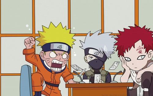 Masashi Kishimoto, Studio Pierrot, Naruto, Kakashi Hatake, Gaara Wallpaper