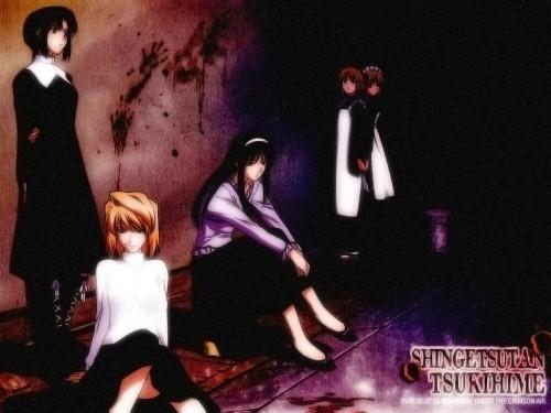 TYPE-MOON, Shingetsutan Tsukihime, Kohaku (Shingetsutan Tsukihime), Ciel (Shingetsutan Tsukihime), Akiha Tohno Wallpaper