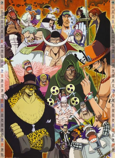Eiichiro Oda, Toei Animation, One Piece, Spandam, Pandaman