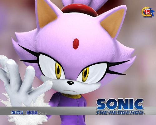 Sega, SNK, Sonic the Hedgehog, Blaze the Cat