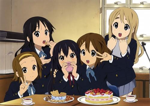 Kyoto Animation, K-On!, Yui Hirasawa, Mio Akiyama, Ritsu Tainaka