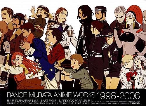 Range Murata, Gonzo, Last Exile, Dunya Scheer, Lavie Head