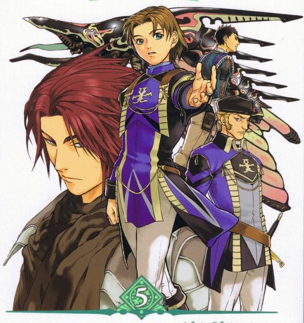 Aki Shimizu, Konami, Suikoden III, Franz, Dios