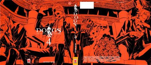 Miwa Shirow, Dogs: Bullets and Carnage, Badou Nails, Mihai Mihaeroff, Richter H. Berthein