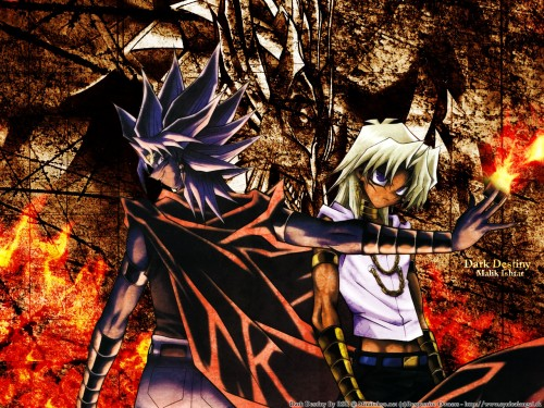 Kazuki Takahashi, Studio Gallop, Yu-Gi-Oh! Duel Monsters, Marik Ishtar, Yami Marik Wallpaper