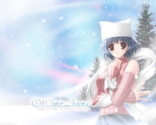 Asuka Pyon, Kobuichi, Studio Mebius, Snow (Visual Novel), Shigure Kitazato Wallpaper