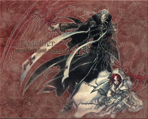 Gonzo, Trinity Blood, Esther Blanchett, Abel Nightroad Wallpaper