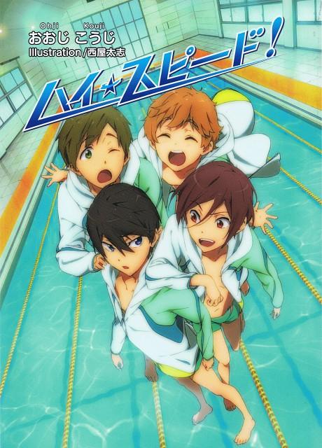 Futoshi Nishiya, Kyoto Animation, Free!, Makoto Tachibana, Nagisa Hazuki