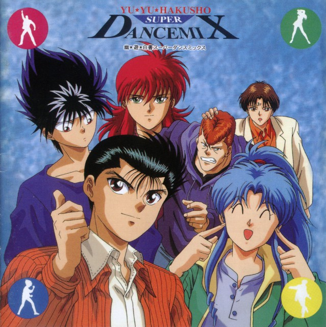 Yuu Yuu Hakusho: Yuu Yuu Hakusho Super Dance Mix CD Cover