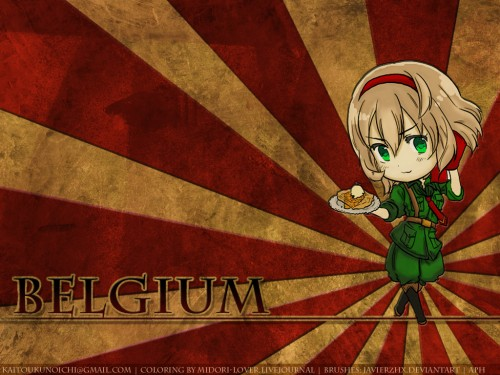 Hidekaz Himaruya, Studio DEEN, Hetalia: Axis Powers, Belgium Wallpaper