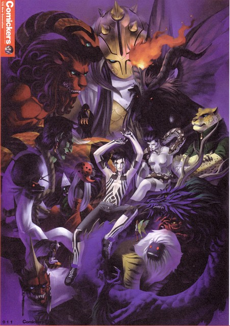 Kazuma Kaneko, Atlus, Shin Megami Tensei, Kikuri-hime, Hitoshura