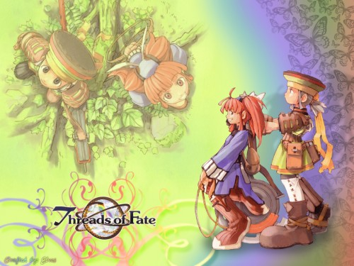 Square Enix, Threads of Fate, Rue (Threads of Fate), Mint Wallpaper