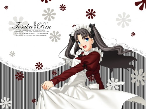 Fate/stay night, Rin Tohsaka Wallpaper
