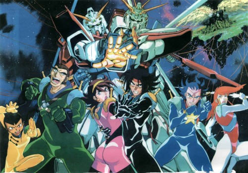 Sunrise (Studio), Mobile Fighter G Gundam, George De Sand, Chibodee Crocket, Sai Saici