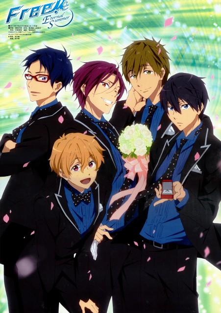 Rie Sezaki, Kyoto Animation, Free!, Haruka Nanase (Free!), Rin Matsuoka