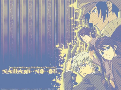 Yuuki Kamatani, Nabari no Ou, Miharu Rokujou, Yoite, Tobari Durandal Kumohira Wallpaper
