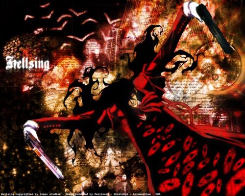 Kouta Hirano, Geneon/Pioneer, Hellsing, Alucard Wallpaper