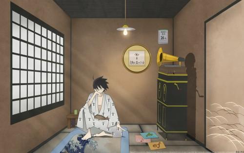 Kouji Kumeta, Shaft (Studio), Sayonara Zetsubou Sensei, Nozomu Itoshiki, Vector Art Wallpaper
