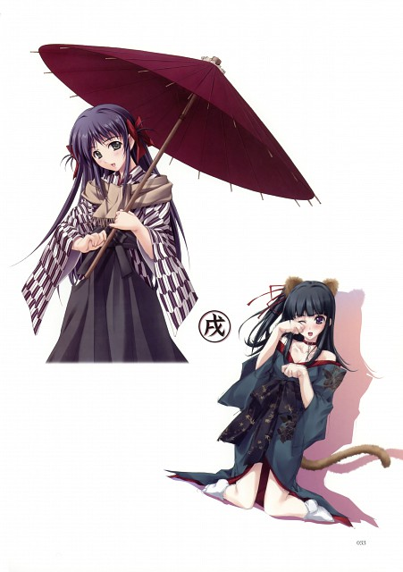 Miki Sugina, Innocent Grey, Nuregarasu, Cartagra, Kazuna Kouzuki