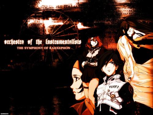 BONES, RahXephon, Reika Mishima, Ayato Kamina, Quon Kisaragi Wallpaper