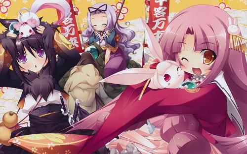 Hinata Katagiri, BaseSon, Appare! Tenka Gomen, Nodoka Yasaka, Tsubame Jinnai