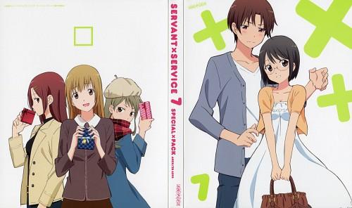 A-1 Pictures, Servant x Service, Megumi Chihaya, Lucy Yamagami, Saya Miyoshi