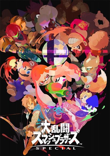 Nintendo, Metroid, Splatoon, Star Fox, Super Smash Bros. Ultimate