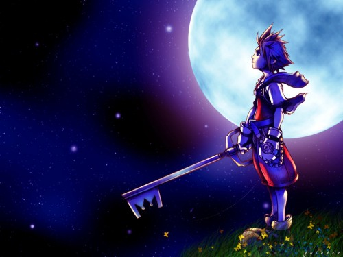 Kingdom Hearts, Sora Wallpaper