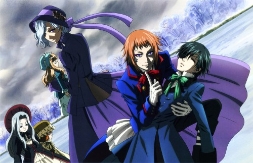 A-1 Pictures, Kuroshitsuji, Ciel Phantomhive, Drocell Cainz, Angela Blanc