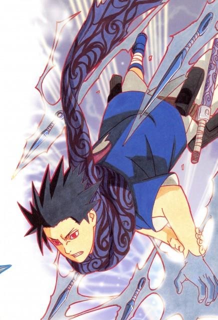 Masashi Kishimoto, Naruto, NARUTO Illustrations, Sasuke Uchiha