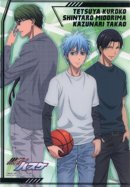 Tadatoshi Fujimaki, Production I.G, Kuroko no Basket, Tetsuya Kuroko, Kazunari Takao