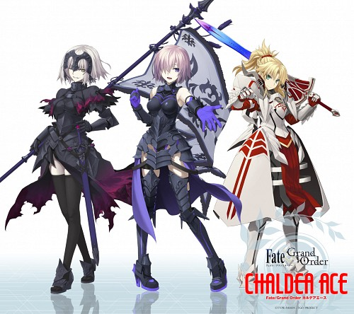 Aniplex, Fate/Grand Order, Mordred, Joan Alter, Shielder
