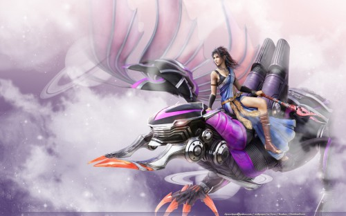 Square Enix, Final Fantasy XIII, Bahamut, Oerba Yun Fang Wallpaper