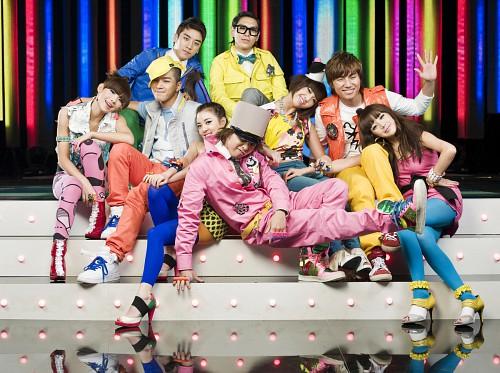 Daesung, Bom Park, G-Dragon, Sandara Park, T.O.P.