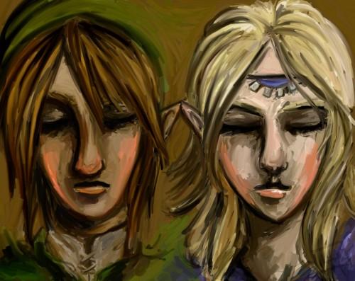 The Legend of Zelda, Link, Zelda, Member Art