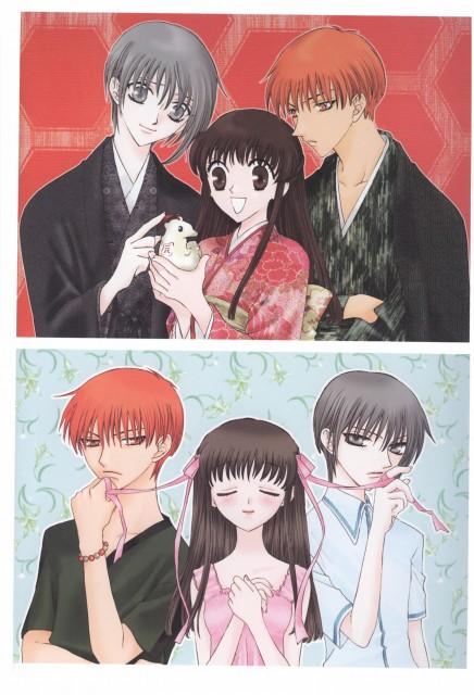 Natsuki Takaya, Fruits Basket, Yuki Sohma, Tohru Honda, Kyo Sohma