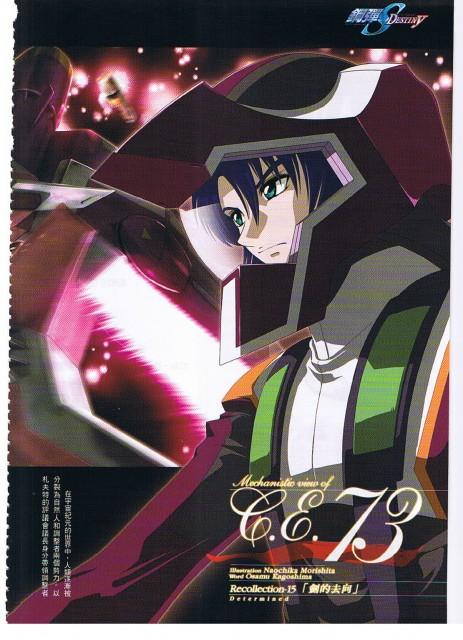 Mobile Suit Gundam SEED Destiny, Athrun Zala