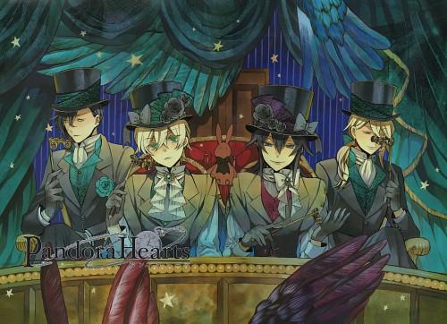 Jun Mochizuki, Xebec, Pandora Hearts, Vincent Nightray, Gilbert Nightray