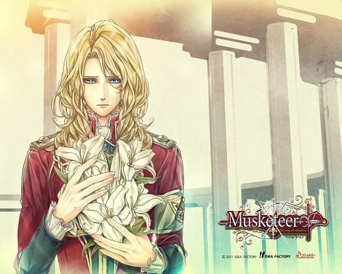Takashi Kiriya, Idea Factory, Musketeer: Le Sang Des Chevaliers, Aramis, Official Wallpaper