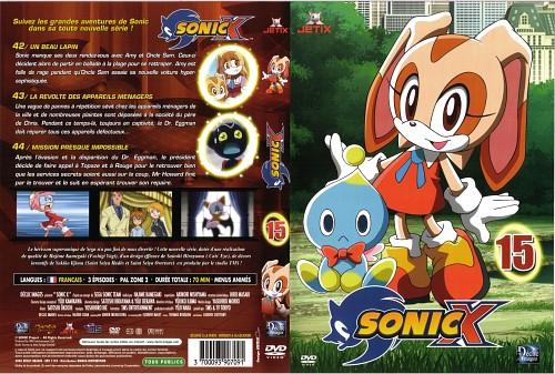 TMS Entertainment, Sega, Sonic the Hedgehog, Cream the Rabbit, DVD Cover