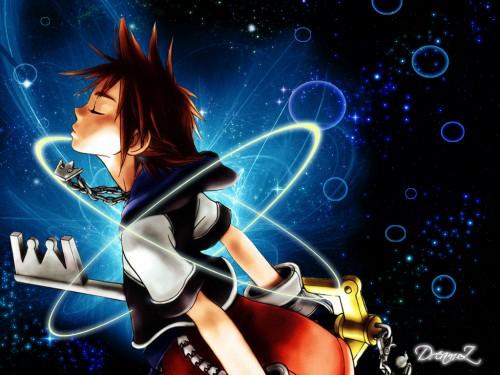 Shiro Amano, Square Enix, Kingdom Hearts, Sora Wallpaper