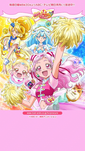 Toei Animation, HUGtto! Precure, Cure Étoile, Cure Ange, Cure Yell