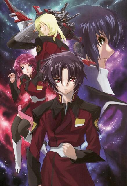 RGB, Hisashi Hirai, Sunrise (Studio), Mobile Suit Gundam SEED Destiny, Rey Za Burrel