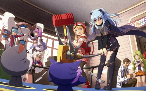 Falcom, The Legend of Heroes: Zero no Kiseki, Tita Russel, Fie Claussell, Tio Plato
